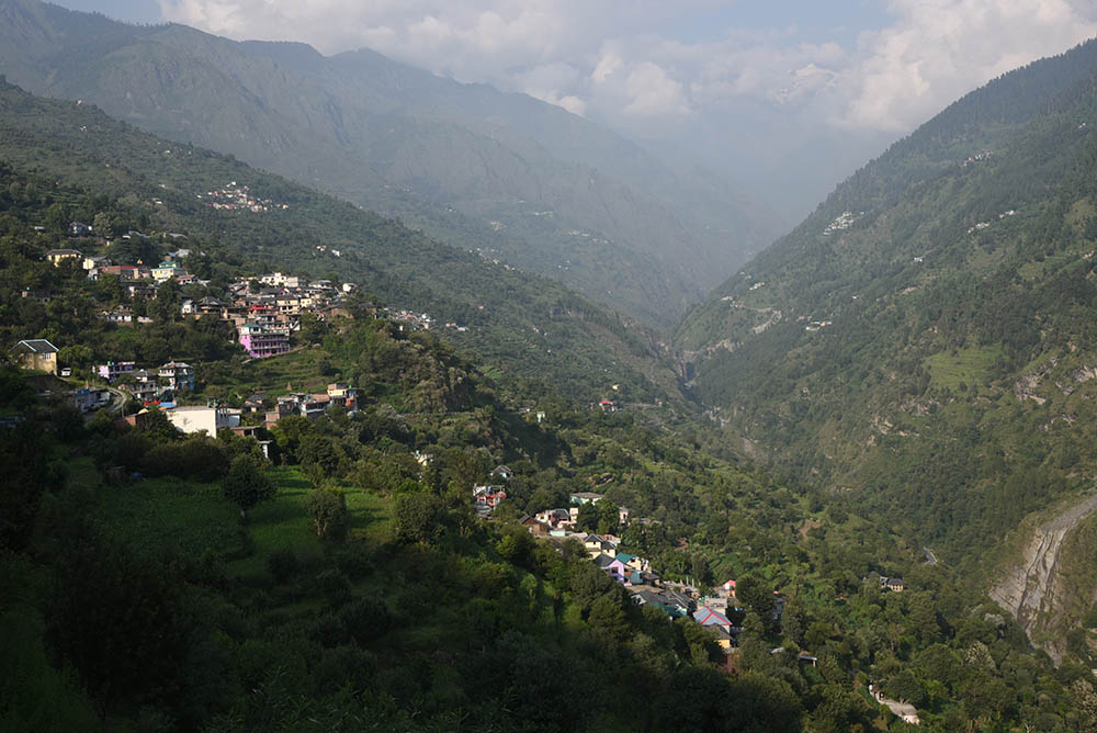 Challenging terrain in Chamba district, Himachal Pradesh